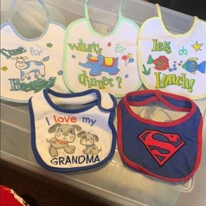 Other - 5 baby bibs.